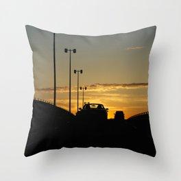 Sunshine on Montreal Throw Pillow