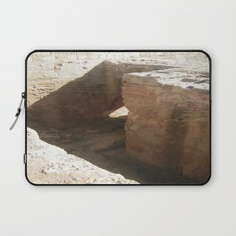 Color Travel Art Rock and a hard place #1 Laptop Sleeve