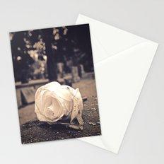 Graveyard rose Stationery Cards