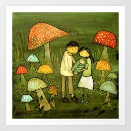 Little Sprout Art Print