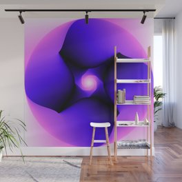 Inside Out Abstract Wall Mural