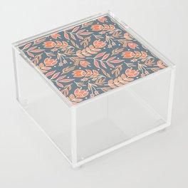 Loquacious Floral Acrylic Box