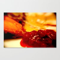thanksgiving Canvas Prints featuring Thanksgiving by Rachel Poverman