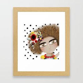 I can not take my eyes out of you Framed Art Print
