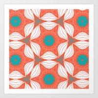 star flower Art Print