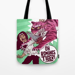 Oh Romance Tiger! Tote Bag