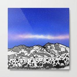 Mount Snowdon Wales Metal Print