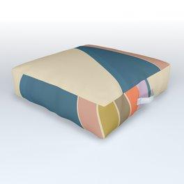 Pastel Sunrise Outdoor Floor Cushion