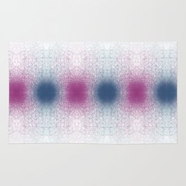 Scattered Lines Converge Rug