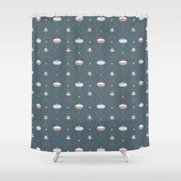 I'm a dessertarian! Shower Curtain