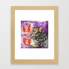 Hexer Framed Art Print