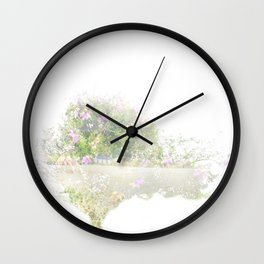 Where the sea sings to the trees - 12 Wall Clock