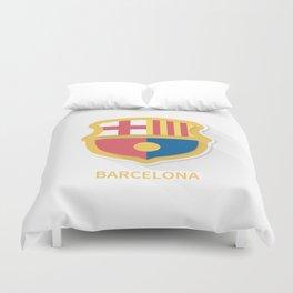 Barcelona FC Flat Logo Duvet Cover
