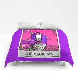 1. The Magician- Neon Dreams Tarot Comforters