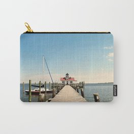 Outer Banks, Roanoke Island Marshes Lighthouse, Manteo, NC OBX Carry-All Pouch