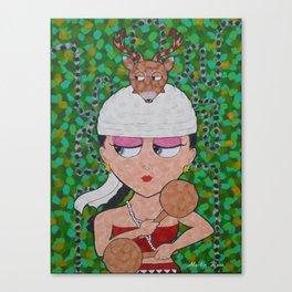 Yaquesita Boquita Canvas Print