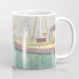 Georges Seurat - Entrance of the Port of Honfleur Coffee Mug