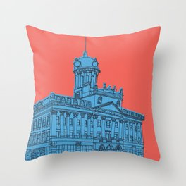 St. Lawrence Hall Throw Pillow