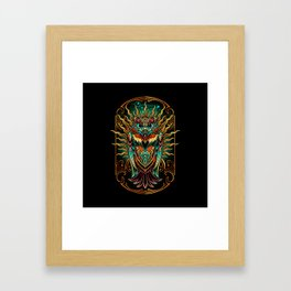 S'Owl Keeper Framed Art Print