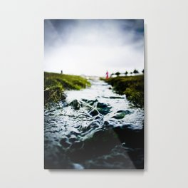 Raging river? Metal Print