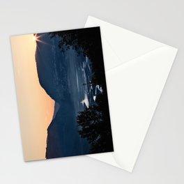 Barrea lake, Abruzzo National Park, Italy Stationery Cards