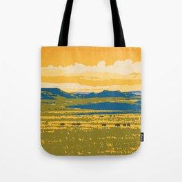 Grasslands National Park Poster Tote Bag