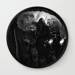 Death Necromancer Wall Clock