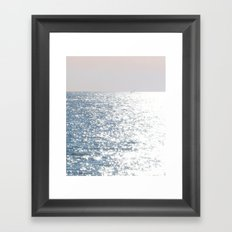 Sea reflections Framed Art Print