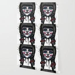 The Horror of Annabelle Wallpaper
