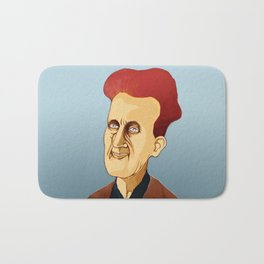 George Orwell, big brother is still watching you Bath Mat