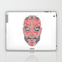 The real dark side - Darth Maul - Revenge Laptop & iPad Skin