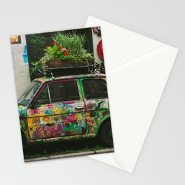 Funky Car | Maluch in Krakow, Poland | City Travel Stationery Cards