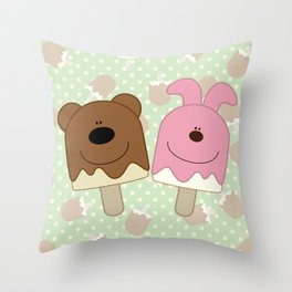 Candy bar Throw Pillow