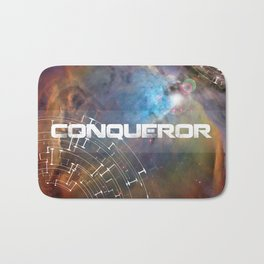 Conqueror Space Trip To The Limits Of The Universe - White Bath Mat
