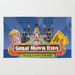 The Great Movie Ride Rug