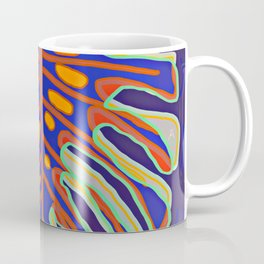 Monstera Flying to Summer Coffee Mug