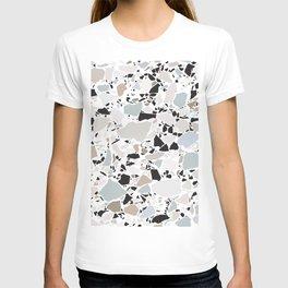 Scandi Terrazzo / Clean, Minimal, Neutral T-shirt