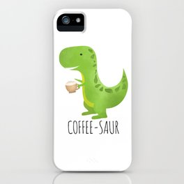 Coffee-saur iPhone Case