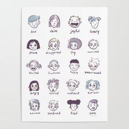 Emotions & Feelings Poster