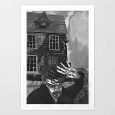 A Tale of an Empty House Art Print