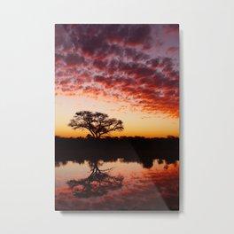 Tau Sunset Metal Print