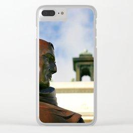 Junipero Serra Clear iPhone Case