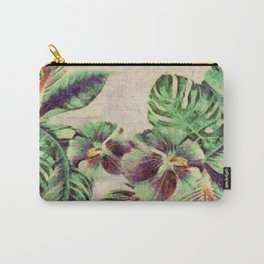 Miami Palm Garden Carry-All Pouch