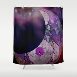 Moonflower Concord Shower Curtain