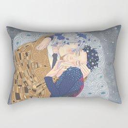 Kiss on Ice Rectangular Pillow