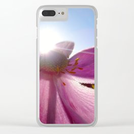 'September' Anemone Clear iPhone Case