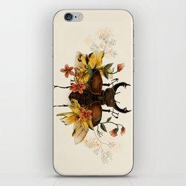Blooming Beetle iPhone Skin