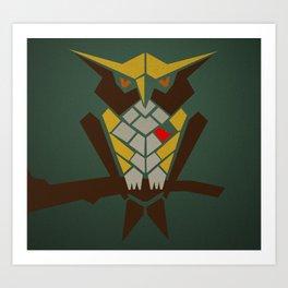 mr.bird Art Print