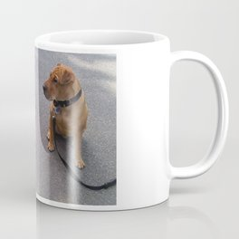 """""""Cat Skeptical"""" from the photo series""""My dog, PLaY-DoH"""" Coffee Mug"""