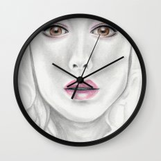 Porcelain Beauty Wall Clock